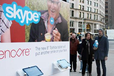 Skype Toshiba #smilestation