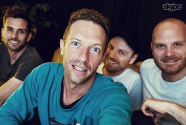 Skype – Coldplay Mojis